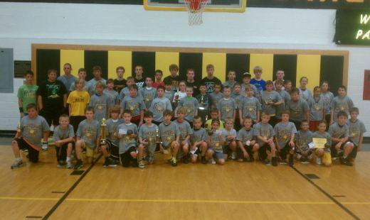 Paint Valley Bearcat Basketball Camp 2012
